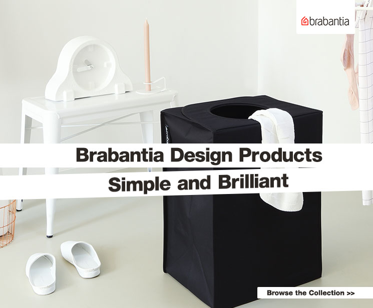 Brabantia Design Products. Simple and brilliant!