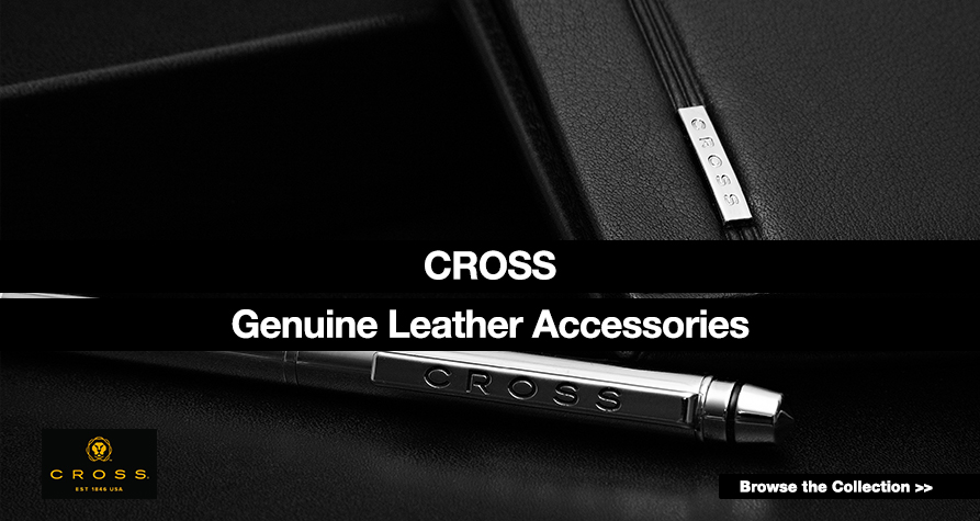 Cross. Genuine Leather Accessories.