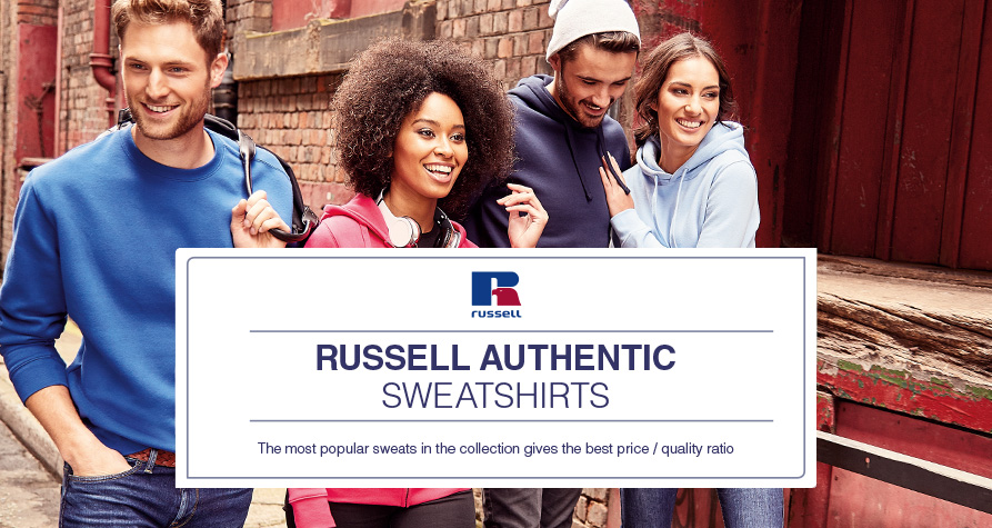 Russell - Authentic Sweatshirts
