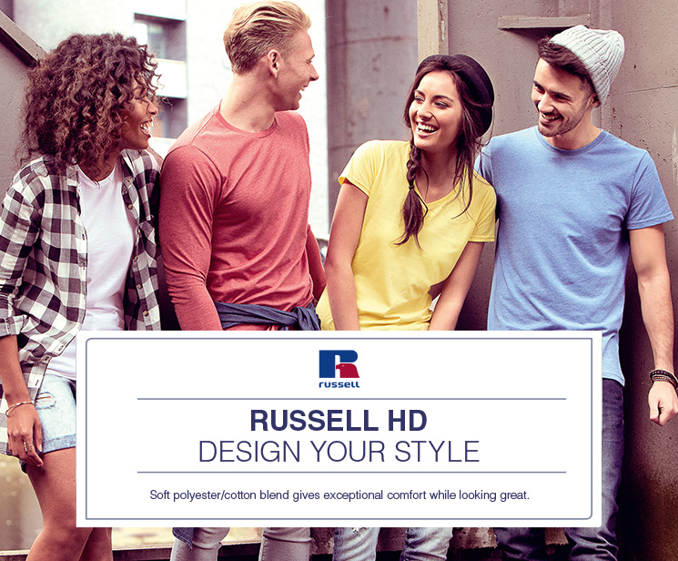 Russell HD - Design Your Style!